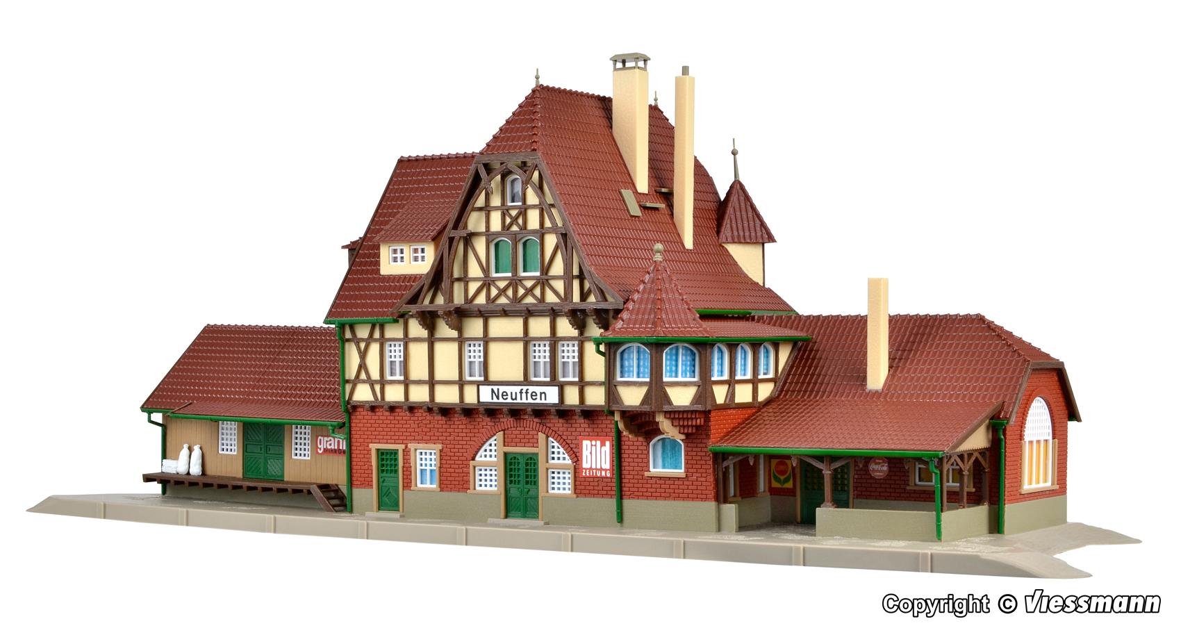 Vollmer 43510 H0 Bausatz Bahnhof Neuffen