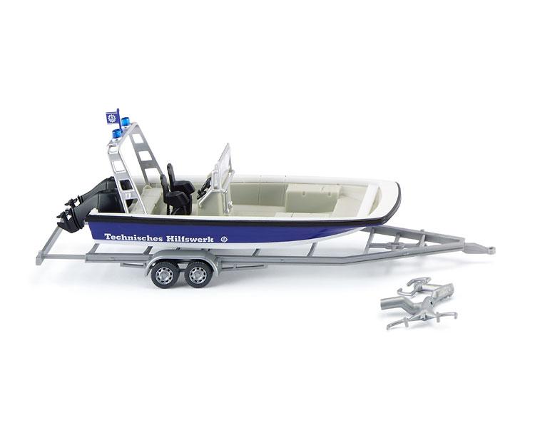 Wiking 9546 THW - Mehrzweckboot 1:87