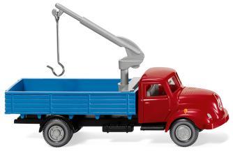 Wiking 42002 Pritschen-Lkw mit Ladekran