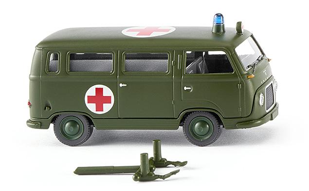 Wiking 69508 Bundeswehr - Ford FK 1000 Bus San 1:87