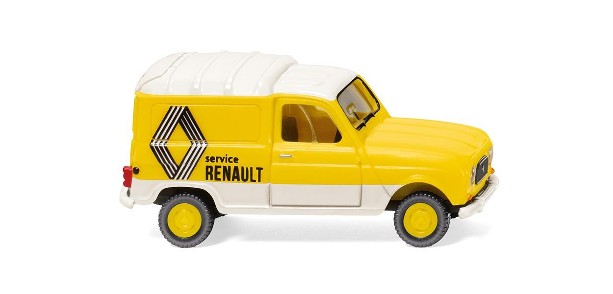Wiking 22503 Renault R4 Kastenwagen