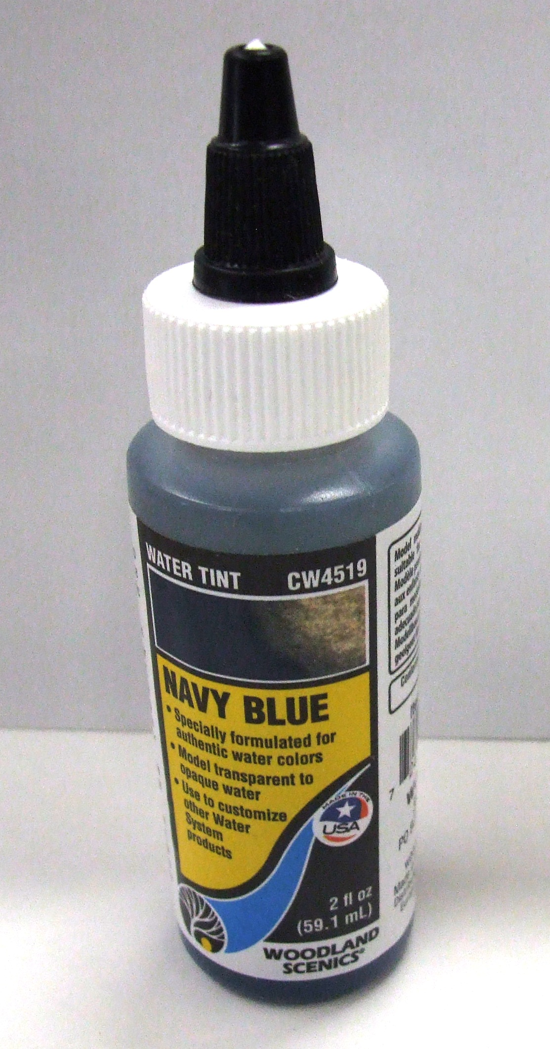 CW 4519 Woodland Wasserfärbung, dunkelblau