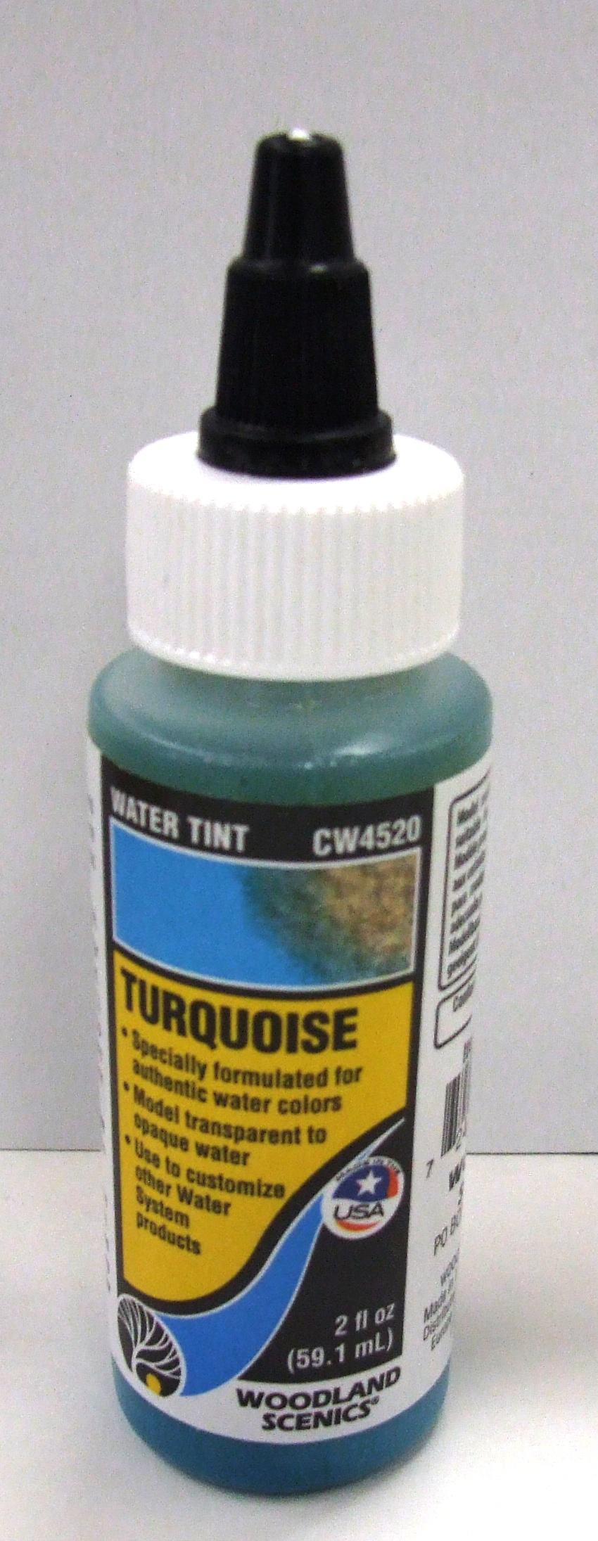 CW 4520 Woodland Wasserfärbung, türkis