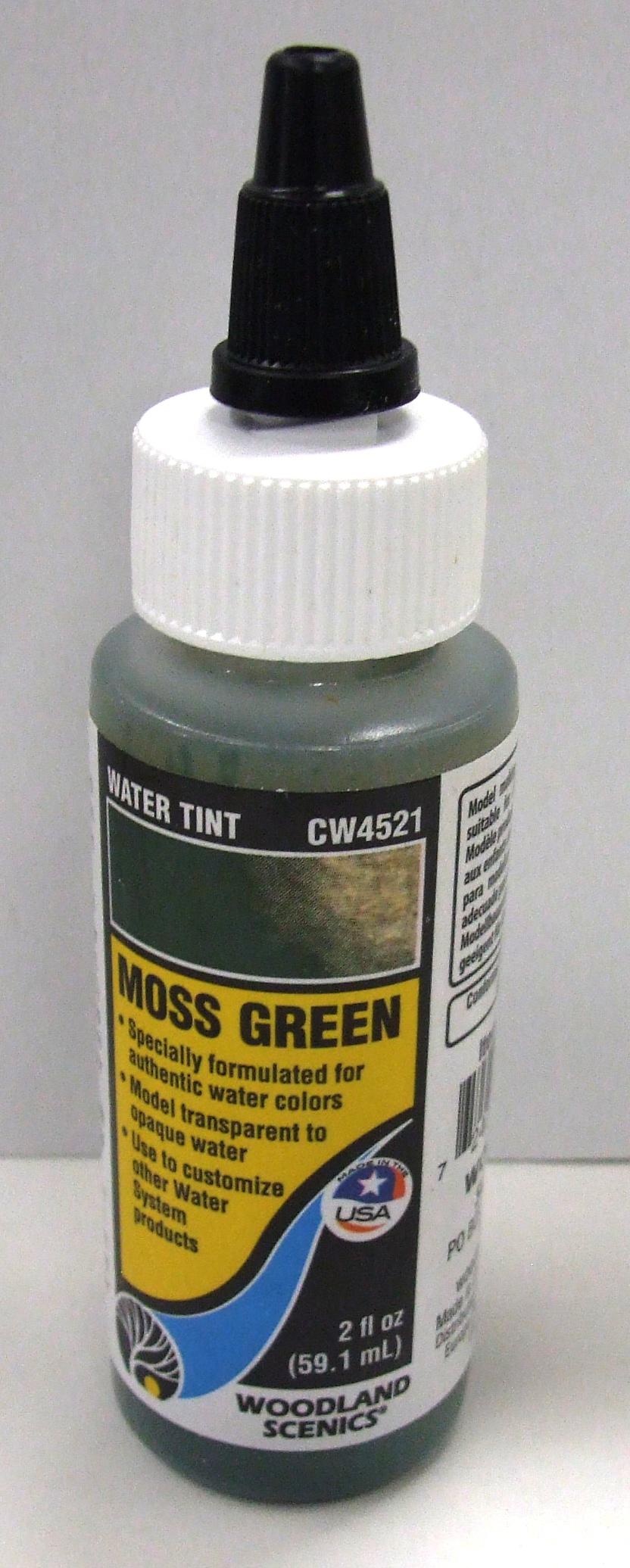 CW 4521 Woodland Wasserfärbung, moosgrün