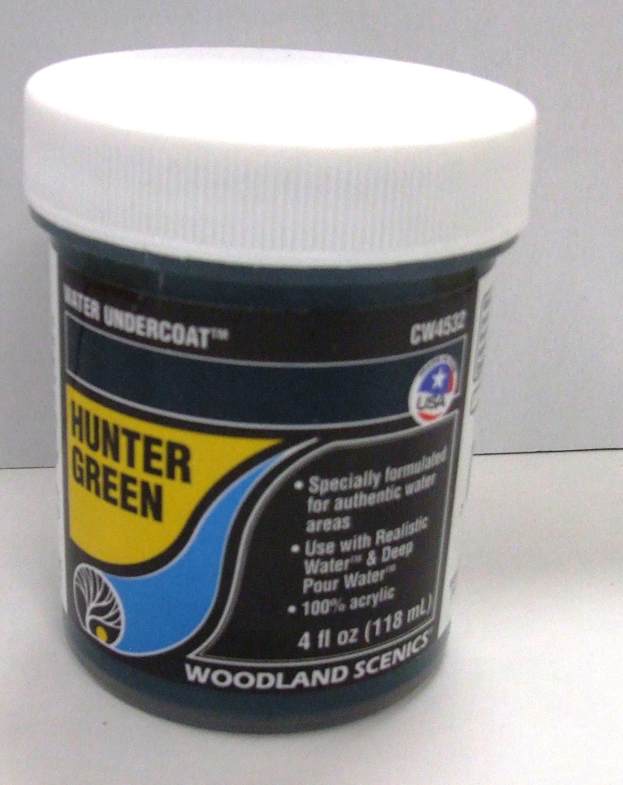 CW 4532 Woodland Wassergrundfarbe jägergrün