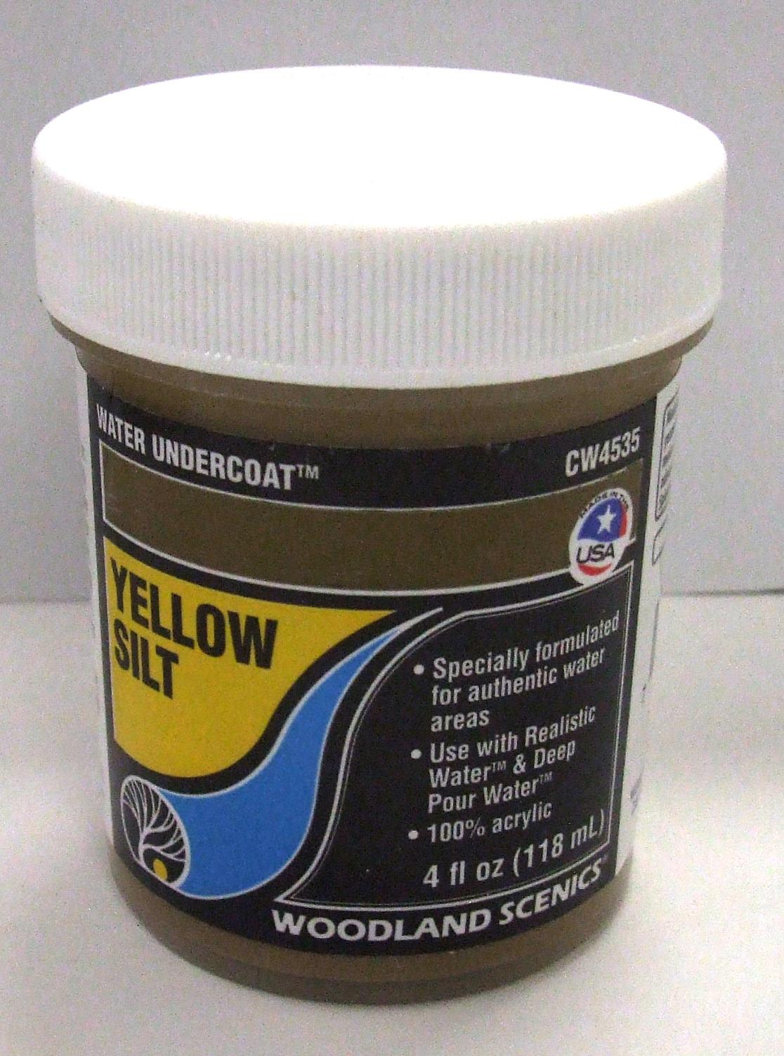 CW 4535 Woodland Wassergrundfarbe schlammgelb